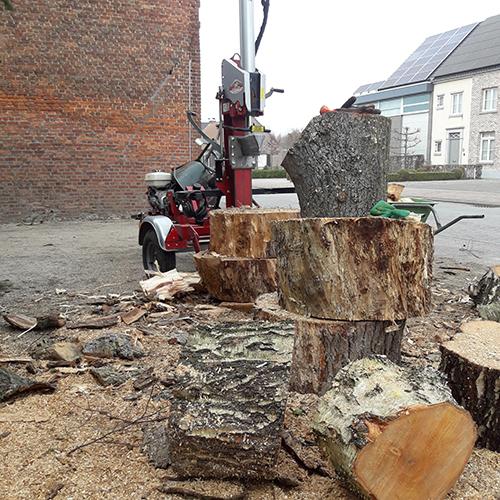 houtblokken Groenland